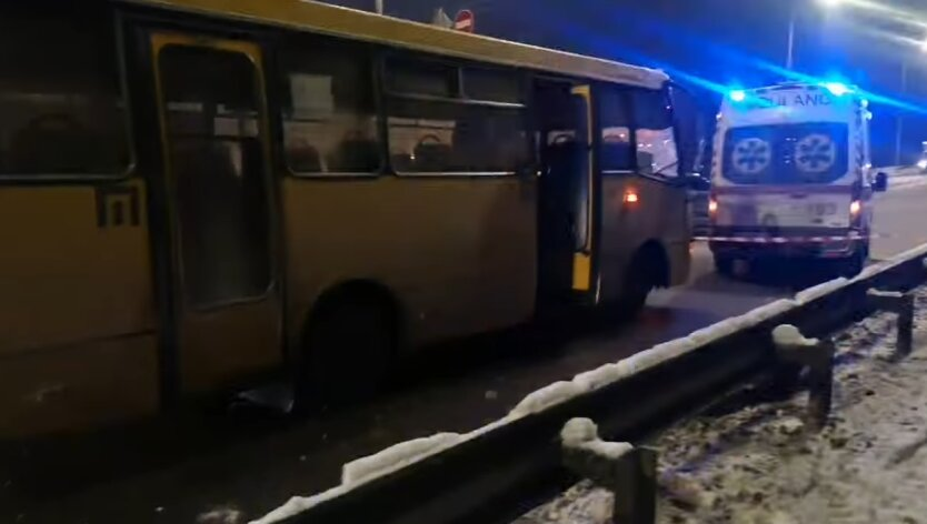 ДТП, Киев, маршрутка
