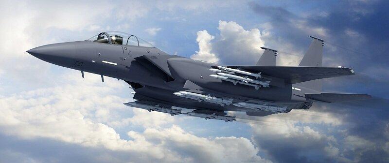 американский истребитель F-15C