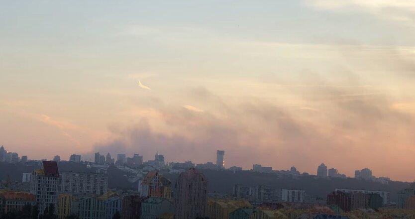 Киев, загрязнение воздуха