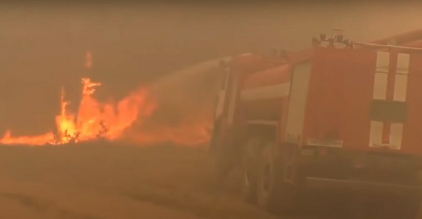 Пожары на Луганщине,тушение пожаров в Луганской области,причины пожара на Луганщине