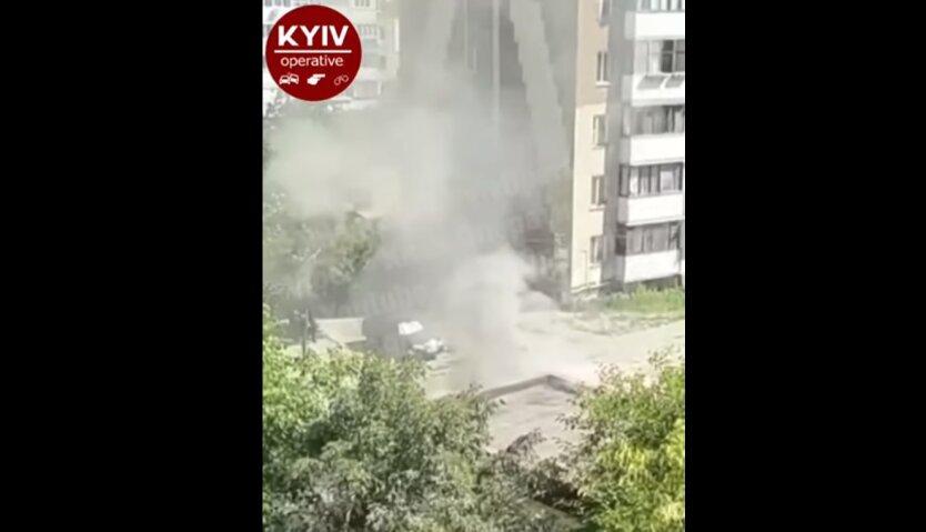 Поджог магазина, Киев, ревность