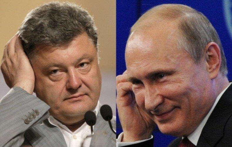 Порошенко_Путин
