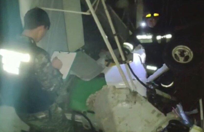 Падения самолета в Пензенской области