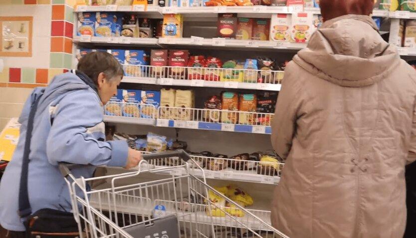 Магазины в Украине во время карантина, гречка в украине, хлеб в украине