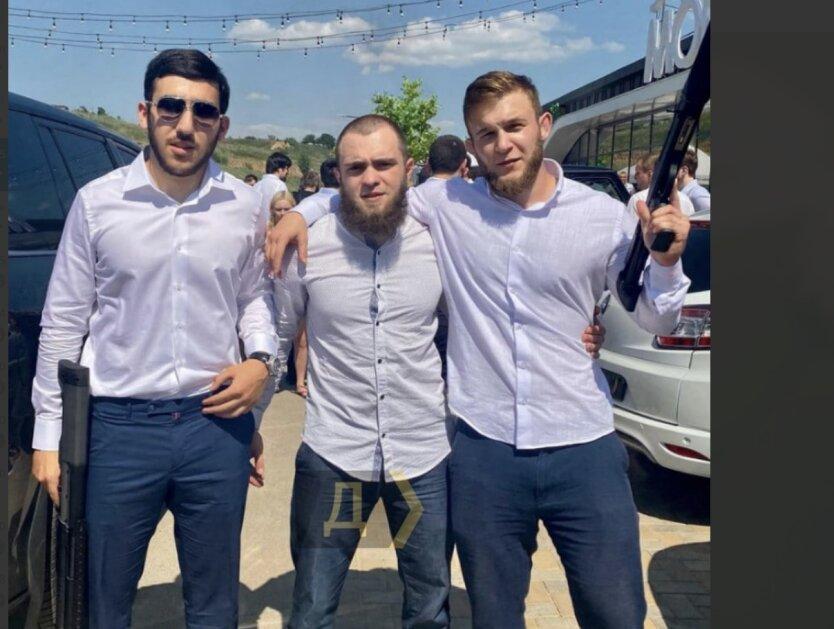 """""""Кавказских стрелков"""" под Одессой задержали спецназовцы: видео"""