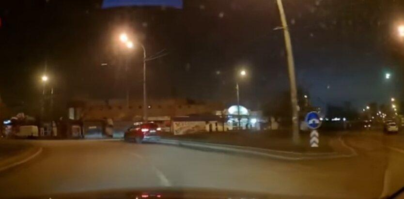 Пьяный за рулем, Киев,полиция