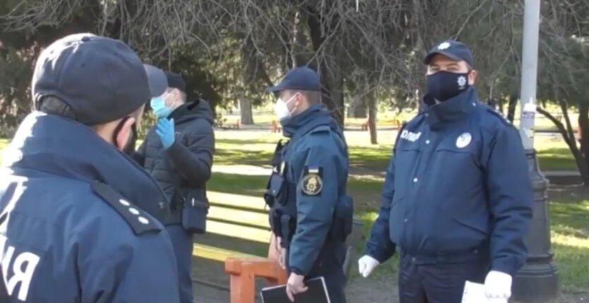 Полиция в Украине  на пасху