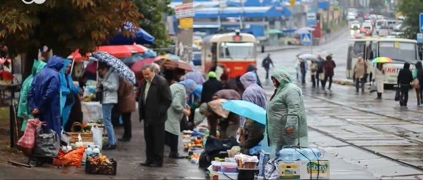 Пенсии в Украине, финансированиеп пенсий, украинцы