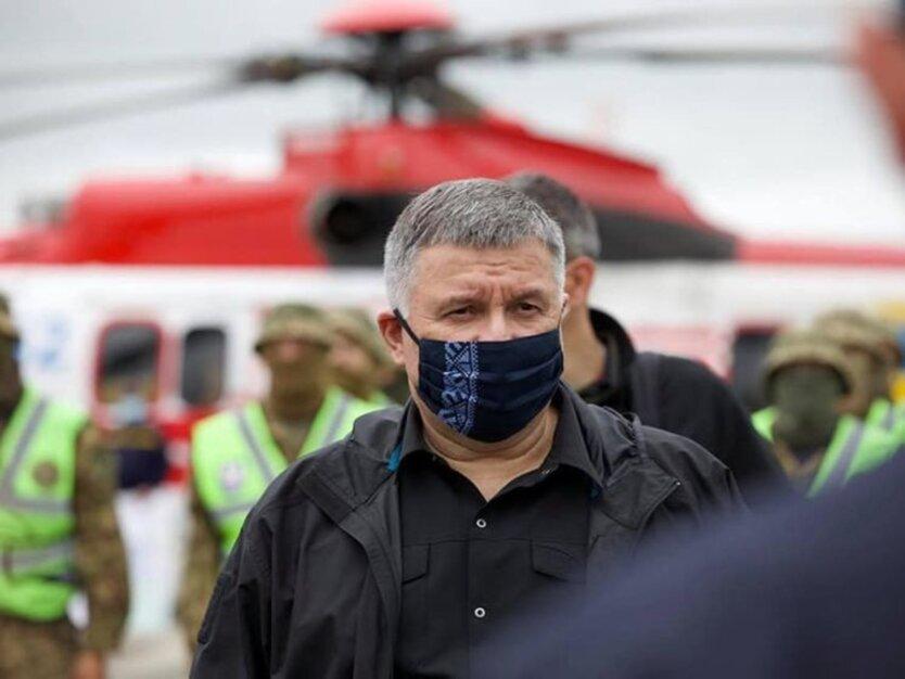 Глава МВД Арсен Аваков, аваков про карантин