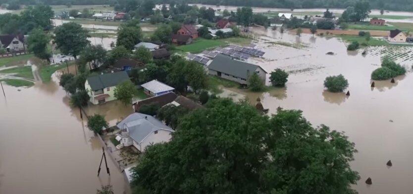 Наводнение на Западной Украине,Посольство США в Украине,потоп в Украине