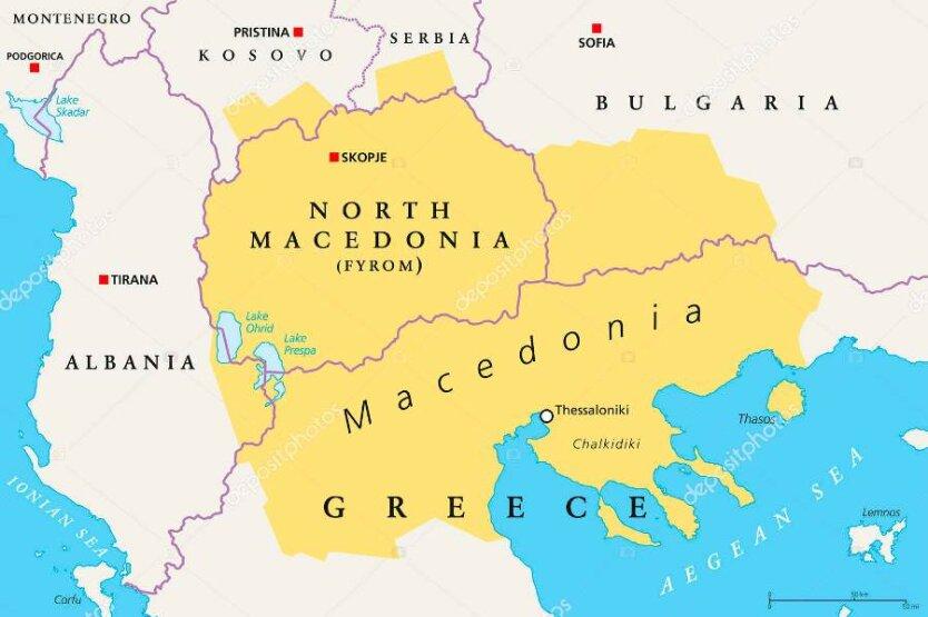 Болгария_Северная Македония