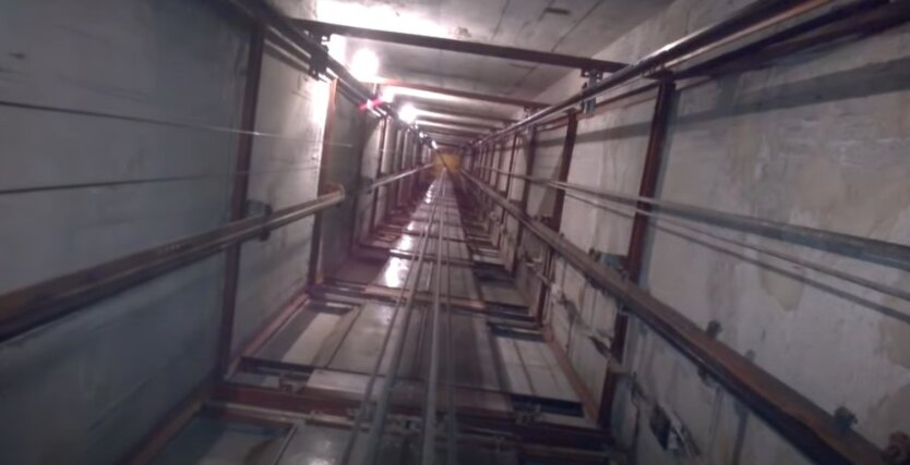 Авария лифта в Польше