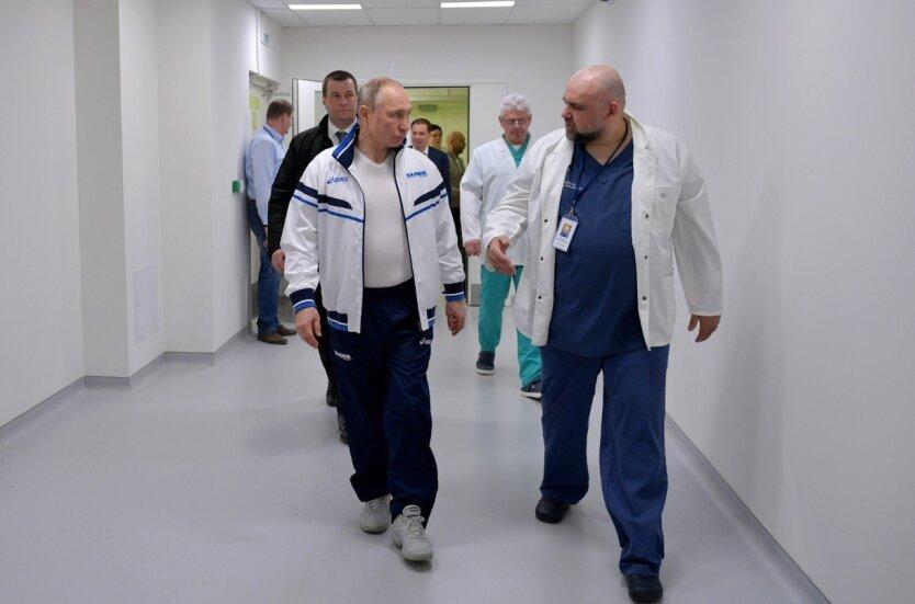 Денис Проценко, Владимир Путин