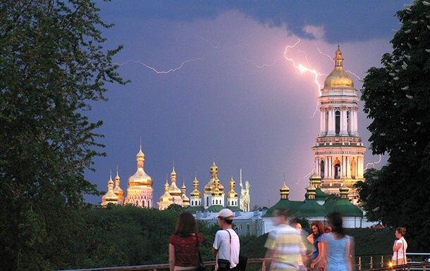 Киев гроза храм