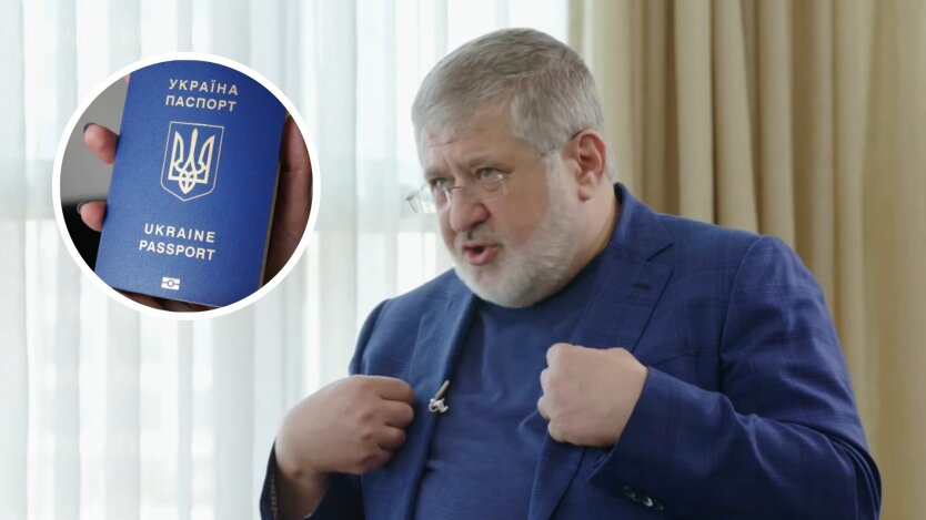Данилов вспомнил про тройное гражданство Коломойского