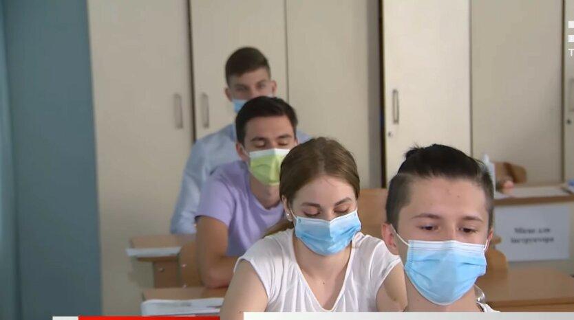 Каникулы в Украине, школьники, отопление в Украине