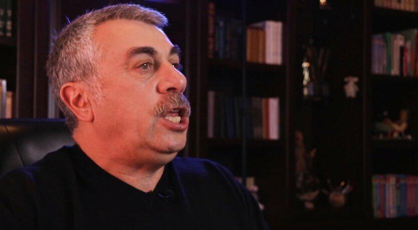Евгений Комаровский, Карантин выходного дня, Нарушение карантина выходного дня
