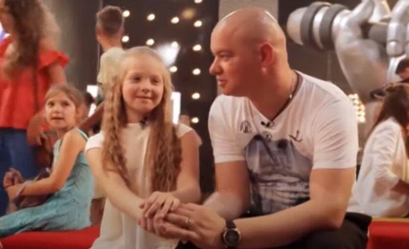 Евгений Кошевой с дочерью Варварой