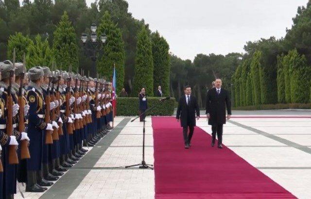 Зеленский в Баку