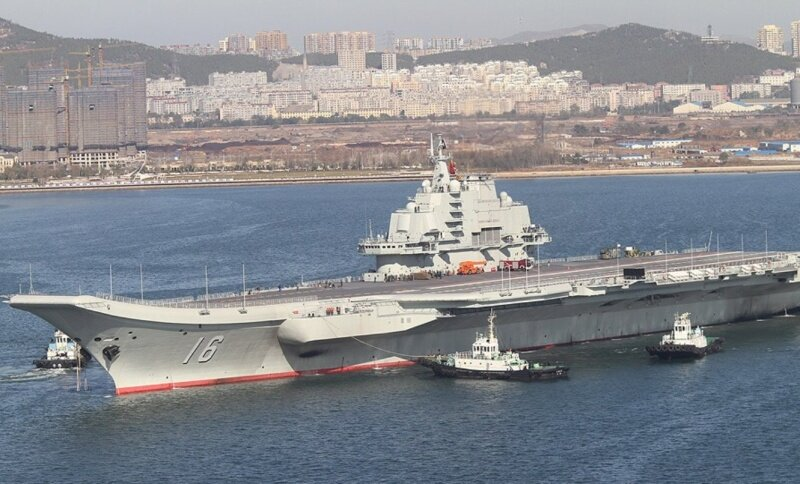 Китай заявил, что следующий авианосец будет больше
