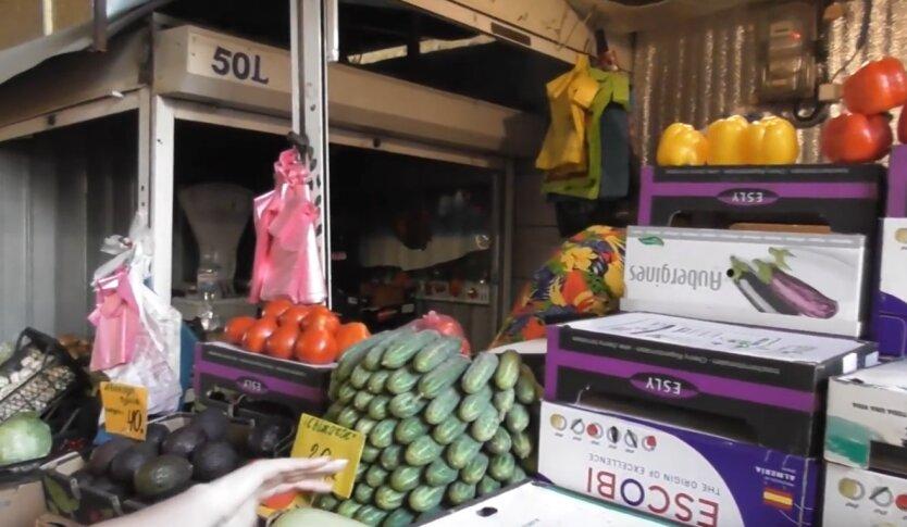 Цены на овощи и фрукты, Украина, карантин