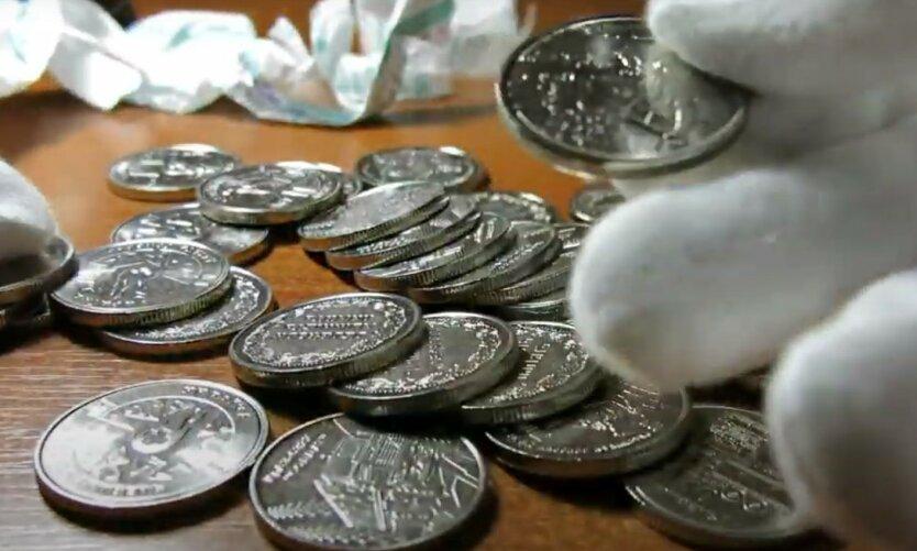 Нацбанк показал украинцам новую монету