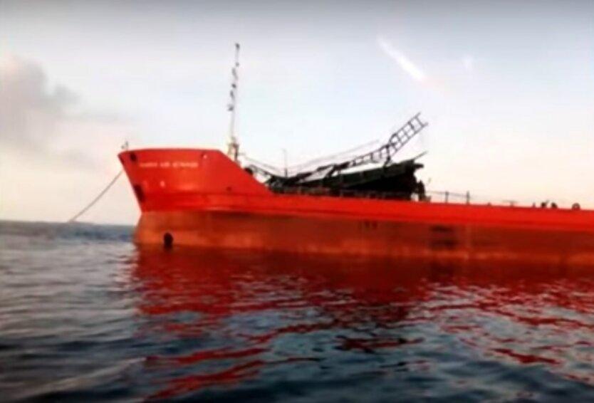 """Взрыв в Азовском море,Танкер """"Генерал Ази Асланов"""",ЧП с нефтяным танкером"""