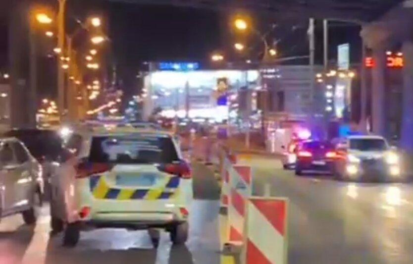 Патрульная полиция Киева,Угон автомобиля в Киеве,Гонка за преступником в Киеве