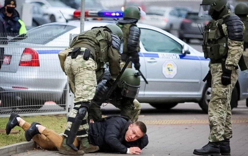 Протесты, избиения, Беларусь
