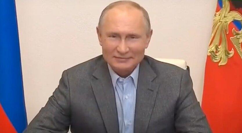 Владимир Путин, агрессия россии, война на донбассе