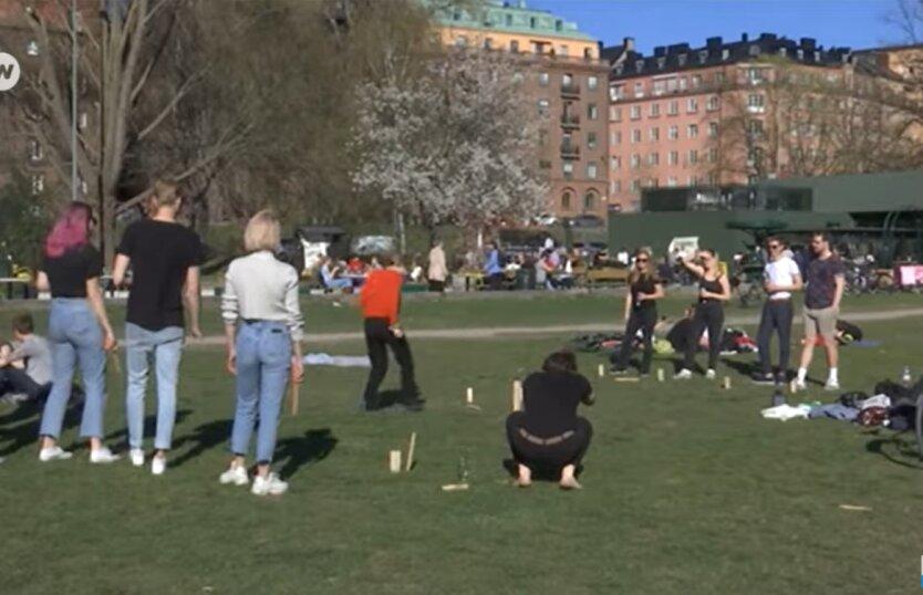 Швеция, жесткий карантин, ВОЗ