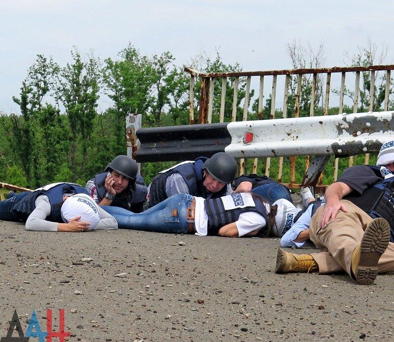 ОБСЕ обстрел 2