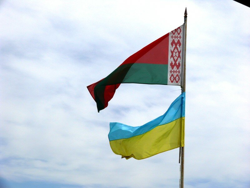 Украина Беларусь флаги
