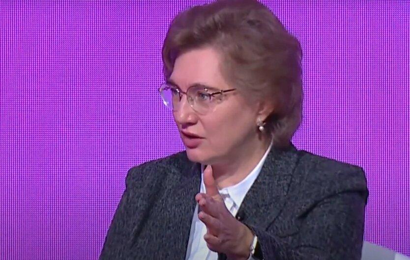 Голубовская прокомментировала статистику заболеваемости коронавирусом