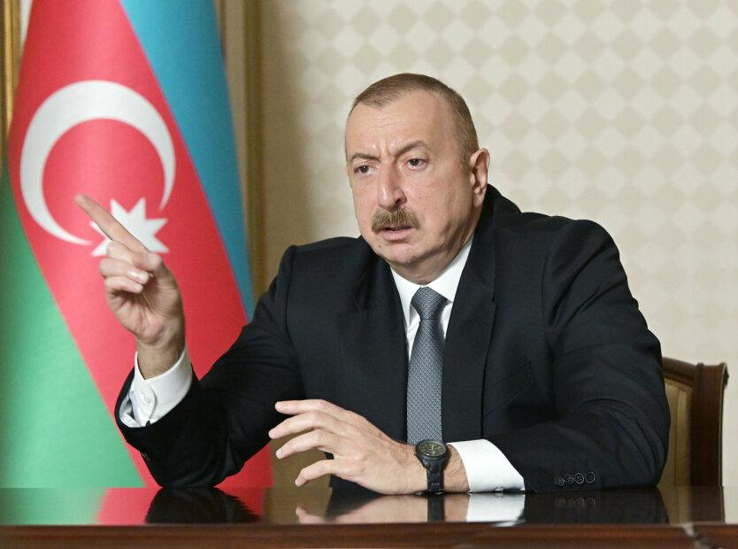 Война Армении и Азербайджана,Нагорный Карабах,Армяно-азербайджанский конфликт,Ильхам Алиев