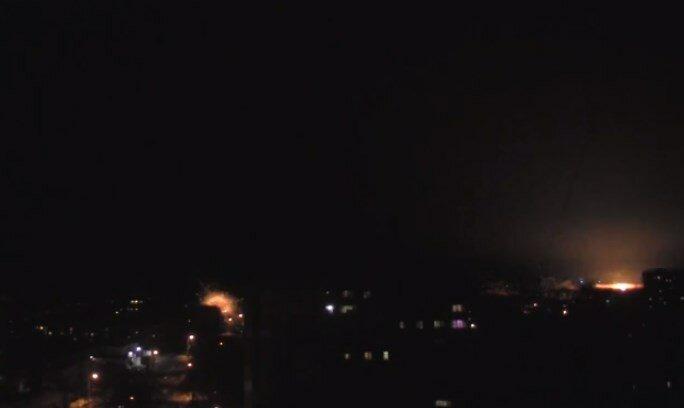 взрывы луганск