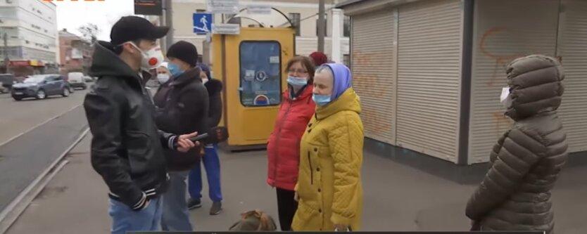 Украинские пенсионеры, страховой стаж, социальная пенсия