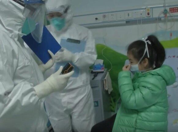 Ребенок с коронавирусом