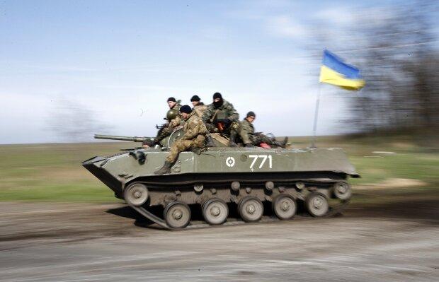 Украинские десантники Краматорск