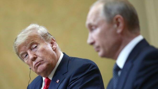 Дональд Трамп Владимир Путин Хельсинки