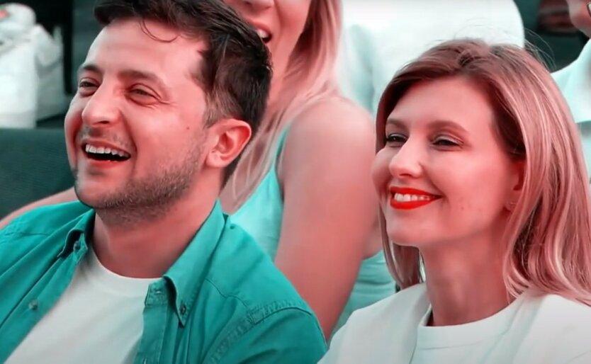 Владимир и Елена Зеленские напомнили миру об Украине