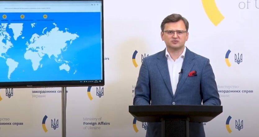 Дмитрий Кулеба, МИД, Беларусь, протесты