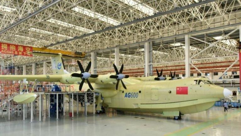 AG600_самолет-амфибия_Китай