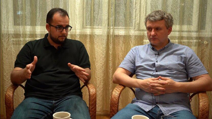 Илия Куса и Юрий Романенко