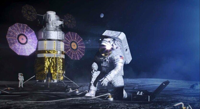 астронавты, НАСА, Луна