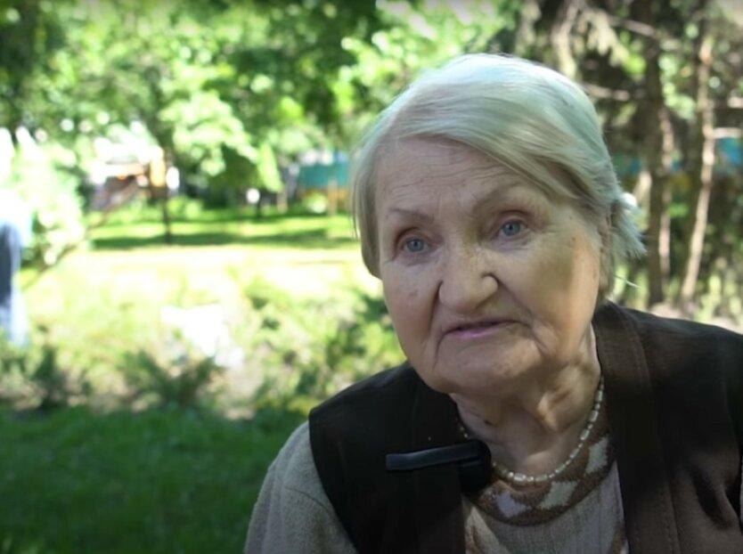 Пенсионеры в Украине, скриншот