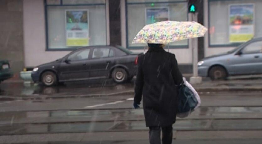 Дождь, Украина, погода