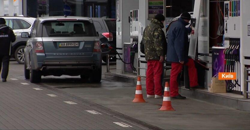 Бензин в Украине, цены на бенизн и дизтопливо, украинские АЗС