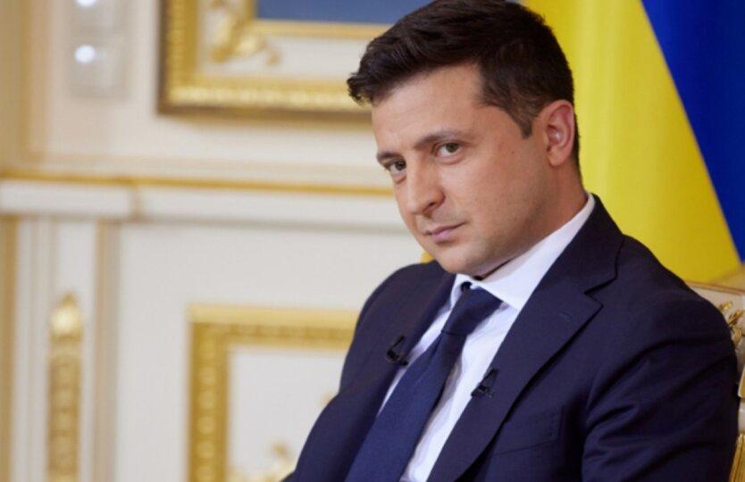 Владимир Зеленский в ОП