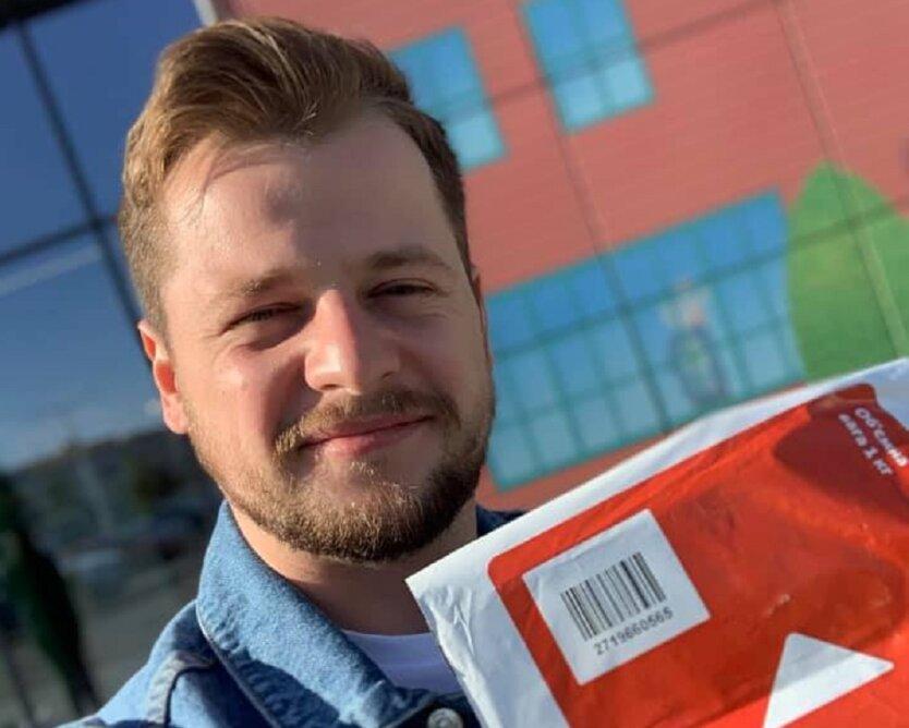 Курьерская доставка Новой почты